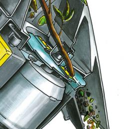 Biotrituratore con Motore Elettrico VIKING GE 105