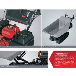 Motocarriola HONDA HP 500 H IT Minidumper