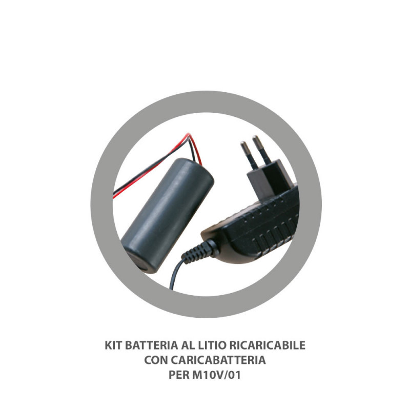 Batteria Litio Ricaricabile VOLPI Jolly