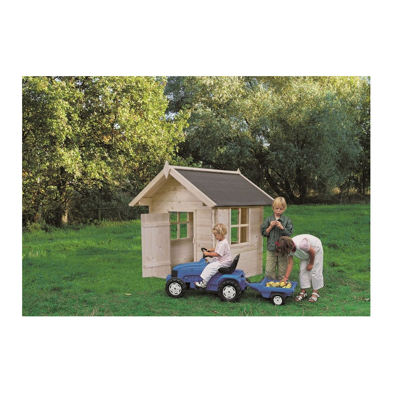 Casetta in legno per bambini da giardino garten pro mod bimbi for Casetta giardino bimbi usata